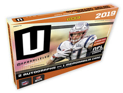 2019 Panini Unparalleled Football 16-Box Case