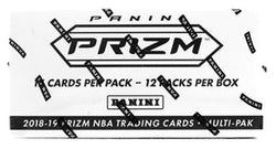 2018-19 Panini Prizm Basketball Cello Box