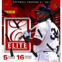 2015 Panini Elite Baseball Box