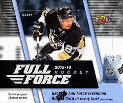 2015-16 Upper Deck Full Force Hockey Hobby Box