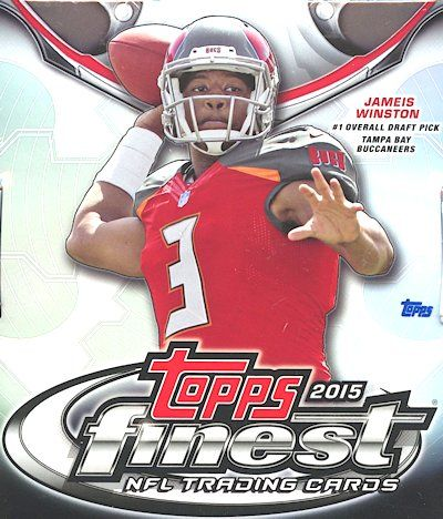2015 Topps Finest Football Box