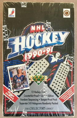 1990-91 Upper Deck High Series Hockey Box