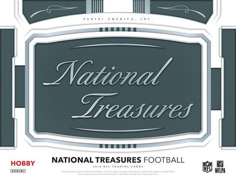 2018 Panini National Treasures Case #2 (Random Teams) - March 22nd @ 6PM