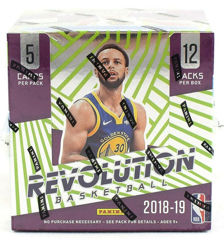 2018-19 Panini Revolution Basketball Chinese 8-Box Case