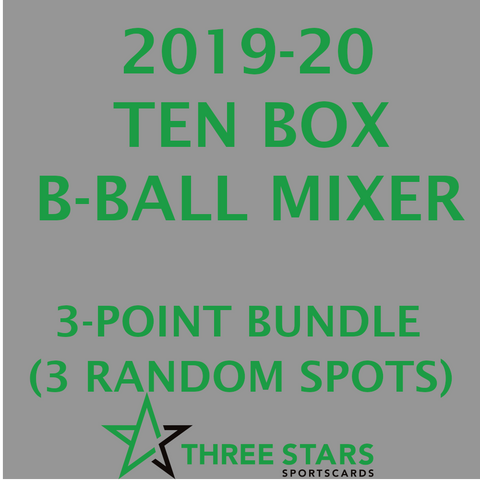 2019-20 ASG 3-Point Mixer
