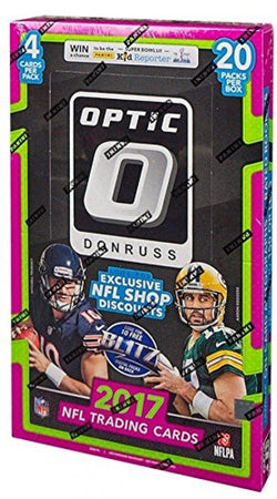 2017 Panini Donruss Optic Football Hobby Case