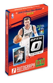 2018-19 Panini Optic Basketball Hobby Case