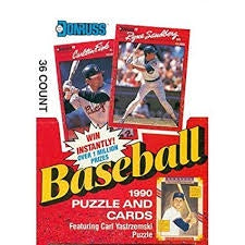 1990 Donruss Baseball Wax Box