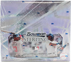 2019 Bowman Sterling Baseball 12-Box Case