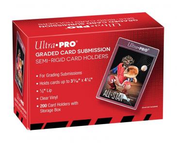 ULTRA PRO SEMI RIGIDS GRADED CARD SUBMISSION Box (200)