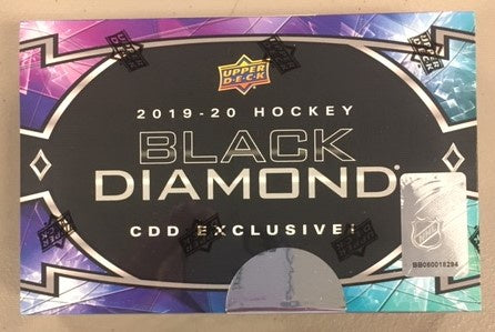 2019-20 Upper Deck Black Diamond CDD EXCLUSIVE! Hockey Box
