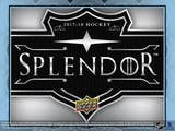 2017-18 Upper Deck Splendor Hockey Box