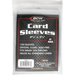 BCW CARD SLEEVES Pack (100)