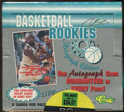 1995 Classic Basketball Box