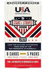 2020 Panini USA Stars and Stripes Baseball Box