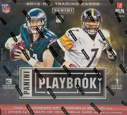 2016 Panini Playbook Football Box