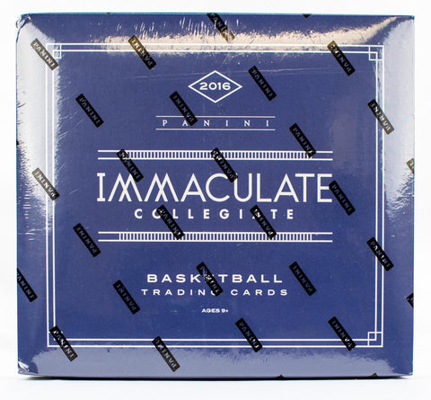 2016-17 Panini Immaculate Collegiate Basketball Case