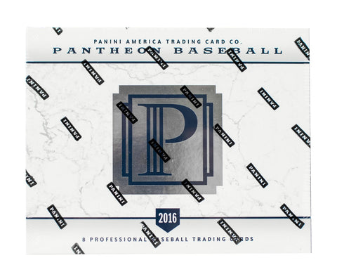 2016 Panini Pantheon Baseball Box