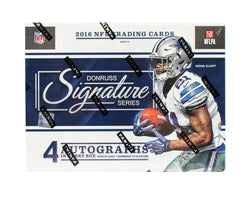 2016 Panini Donruss Signature Series Football Box