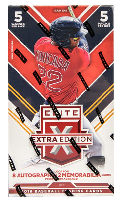 2016 Panini Elite Extra Edition Baseball Box