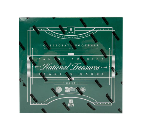 2016 Panini National Treasures Collegiate Football Box