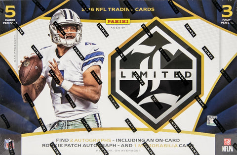 2016 Panini Limited Football Box