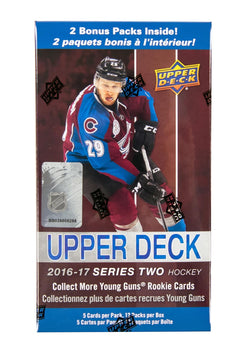 2016-17 Upper Deck Series 2 Hockey Blaster Box
