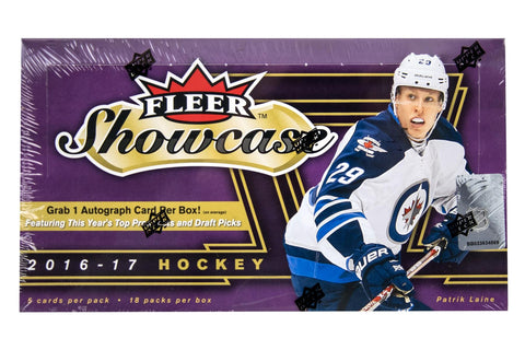 2016-17 Upper Deck Fleer Showcase Hockey Box