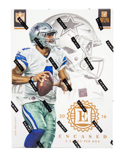 2016 Panini Encased Football Box