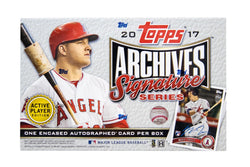 2018 Topps Archives Signature Series Active Player Edition Case
