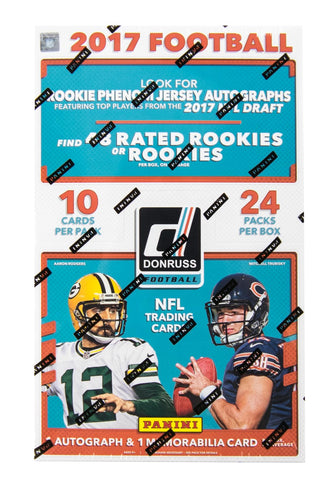 2017 Donruss Football Hobby Box