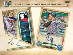 2019 Topps Gypsy Queen Hobby 10-Box Case