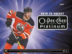 2019-20 Upper Deck O-Pee-Chee Platinum Hockey Hobby 8-Box Inner Case