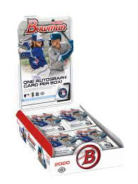 2020 Bowman Baseball Jumbo Box