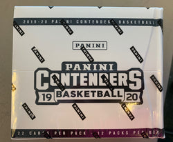 2019-20 Panini Contenders Basketball Fat Pack Box