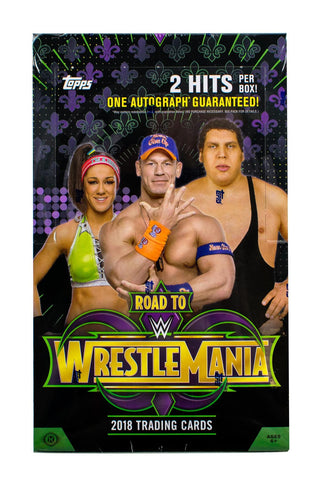 2018 Topps Road to Wrestlemania Hobby Box