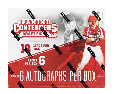 2017 Panini Contenders Draft Baseball Box