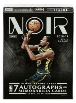 2018-19 Panini Noir Basketball 4-Box Case