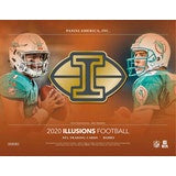 2020 Panini Illusions Football Hobby - 8 Box Inner Case
