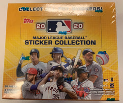 2020 Topps Baseball Sticker 50-Pack Box