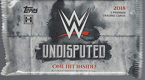 2018 Topps WWE Undisputed Hobby Pack