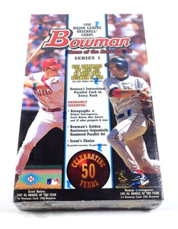 1998 Bowman Baseball Series 1 Box