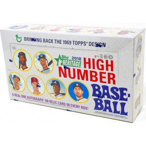 2018 Topps Heritage High Number Box