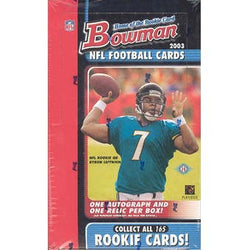 2003 Bowman Football Hobby Box