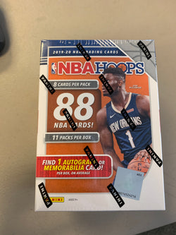2019-20 Panini Hoops Basketball Blaster Box