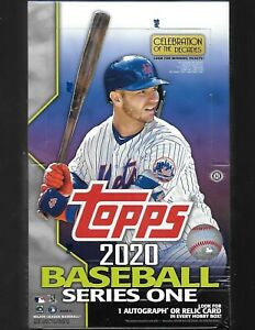 2020 Topps Series 1 Baseball Hobby 12-Box Case