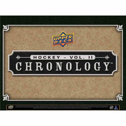 2019-20 Upper Deck Chronology II Hockey Hobby Box