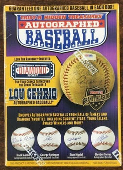 2018 Tristar Hidden Treasures Autographed Baseball Box