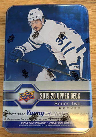 2019-20 Upper Deck Series 2 Hockey Tin