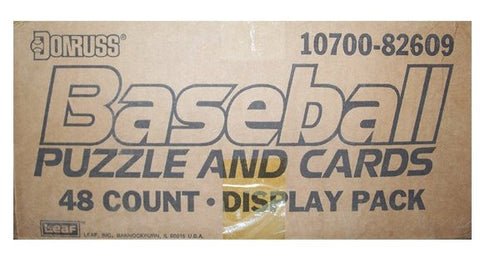 1989 Donruss Baseball Blister Pack Case